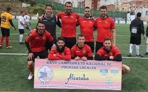 La Guardia Civil de Valencia logra el tercer puesto en un campeonato policial de fútbol 7