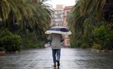 Valencia empieza la Semana Santa con lluvias