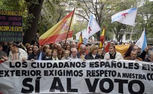 «No es voto rogado, es un voto robado»