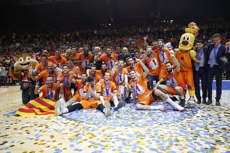 El Valencia Basket-Alba Berlin en imágenes