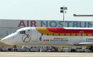 La huelga de pilotos de Air Nostrum se inicia con 10 cancelaciones en la Comunitat