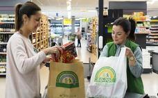 Mercadona culmina la eliminación definitiva de las bolsas de plástico en sus supermercados
