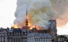 «Desolación», «tristeza» y «horror», entre las reacciones de los políticos valencianos ante el incendio de Notre Dame