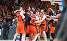 La celebración del Valencia Basket: horario y actos en la Basílica, Generalitat y plaza del Ayuntamiento