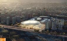 El aparcamiento del Valencia Arena obliga a trasladar un colegio público