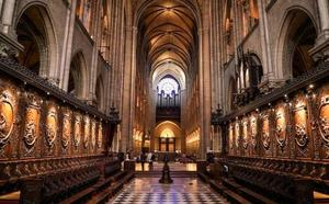La catedral de Notre Dame por dentro antes de ser devorada por las llamas
