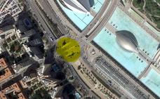 ¿Dónde está la plaza de la Maratón en Valencia?