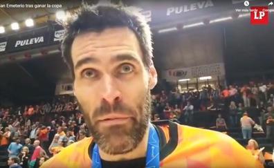 Fernando San Emeterio ya tiene su Eurocup