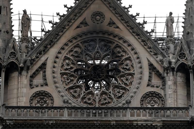 Notre Dame después del incendio: así ha quedado la Catedral de París