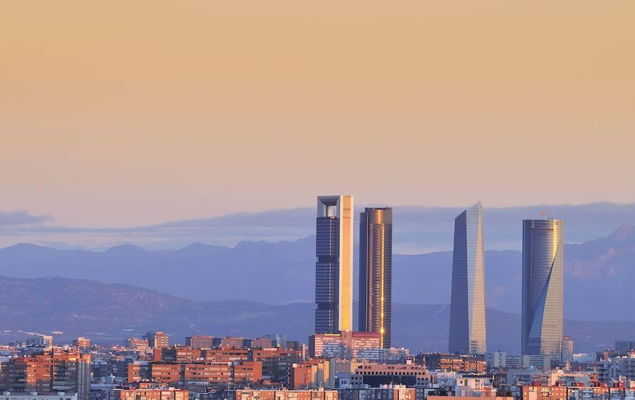 Torre Espacio, una de las cuatro torres de la Castellana en Madrid