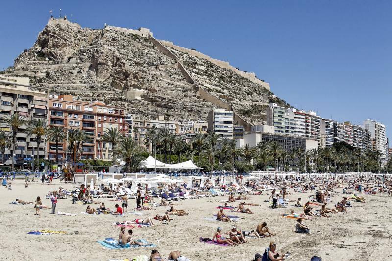 El tiempo en Alicante en Semana Santa 2019: la previsión de Aemet para hoy