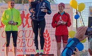 García Barragán y Cristina Roselló, los mejores en la Volta Popular a Benitatxell