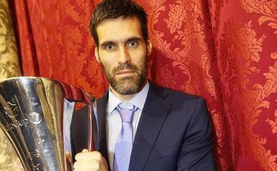 San Emeterio: «Sólo me falta la Euroliga y ojalá que llegue en Valencia»