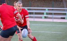 Toni Cantó vuelve a pisar un campo de rugby