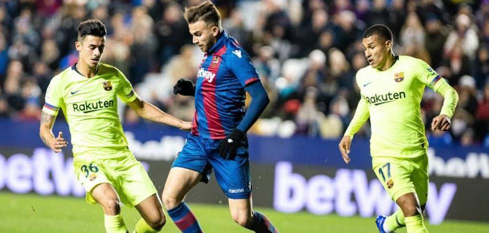 Competición determina que hubo alineación indebida del Barça ante el Levante UD pero descarta una sanción