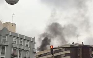 Incendio en una vivienda de la avenida Giorgeta de Valencia