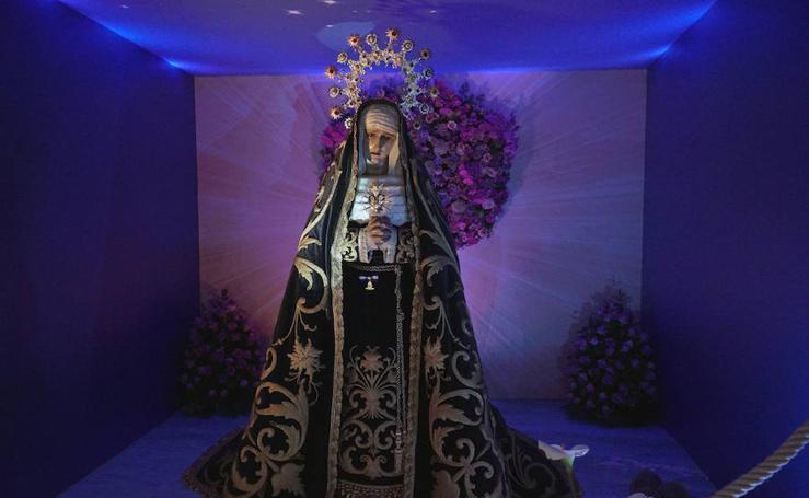 Visita a las imágenes de la Semana Santa Marinera