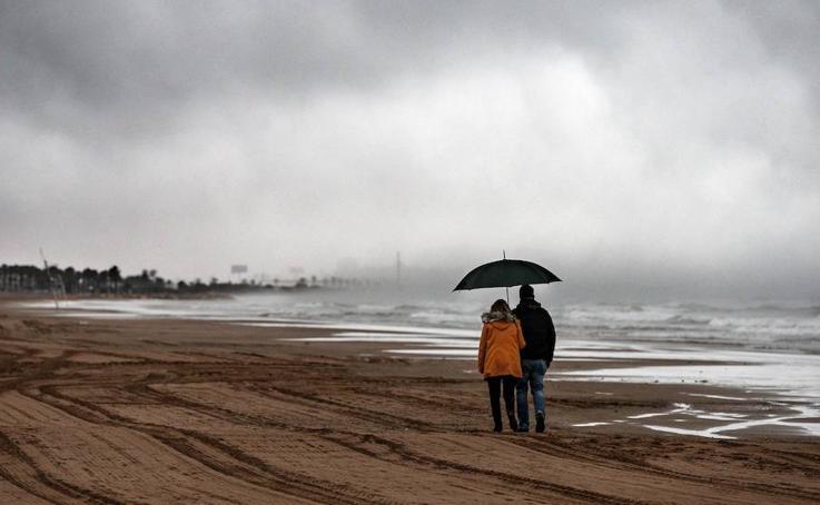 Lluvia en Valencia en Semana Santa 2019