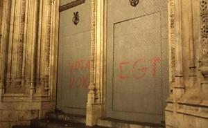 La Lonja sufre otro acto vandálico