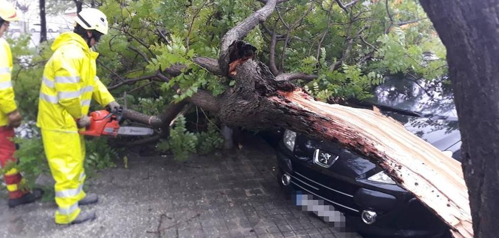 En directo | Los efectos del temporal de lluvia y viento