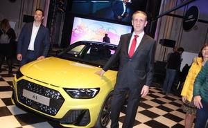 Audi Center Valencia estrena  el nuevo A1 en Convent Garden