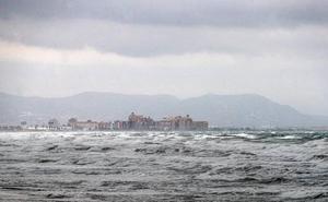 Cerrados los puertos de Valencia, Sagunto, Castellón y Gandia