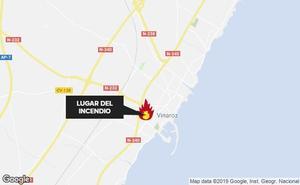 Un fallecido y cinco heridos en el incendio de una vivienda en Vinaròs