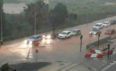 Aviso amarillo por lluvias en el litoral sur de Valencia y norte de Alicante