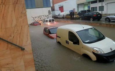El temporal deja 250 l/m2 en Xàbia y un centenar de rescates entre la Marina Alta y La Safor