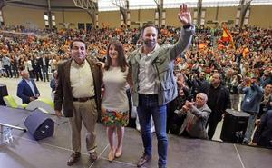 Santiago Abascal llena en Alicante