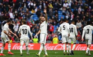 Benzema eleva al Real Madrid