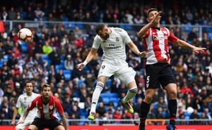 Benzema hace el segundo para el Real Madrid
