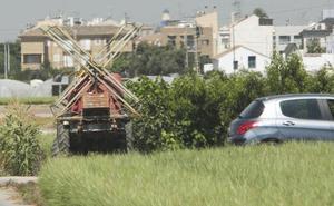 Los guardas rurales podrán multar a conductores en los caminos de huerta