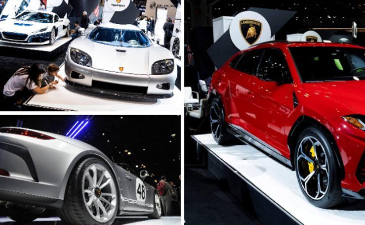Coches de ensueño y el SUV más caro del mundo en la feria del automóvil de Nueva york