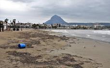 Los daños del temporal en Xàbia, tras lluvias de casi 500 litros en dos días