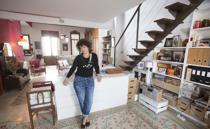 La casa de Rosa Borredá, un hogar puzle