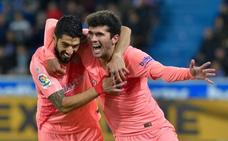 El Barça descorcha el cava