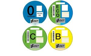 Obligatoria la pegatina de la DGT para todos los coches que circulen por Madrid