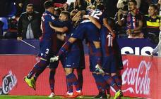 El Levante se toma la Liga como un thriller