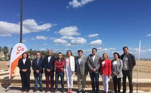 Ciudadanos presenta su lista municipal en el paseo de la playa del Cabanyal