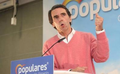 Aznar: «Si tengo delante alguno de los candidatos de ayer, me duran muy poco»