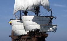 Embarcaciones históricas atracan en el puerto de Castellón: el Galeón Andalucía, el velero Santa María Manuela y Santa Eulàlia