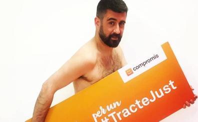 Los motivos políticos de Pere Fuset para desnudarse en Instagram