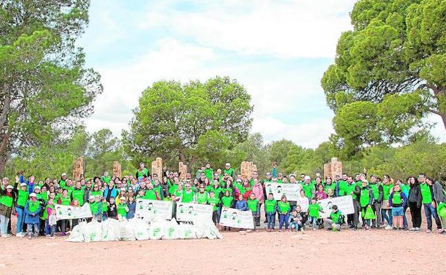 Limpiando y conservando el paisaje de la sierra Calderona