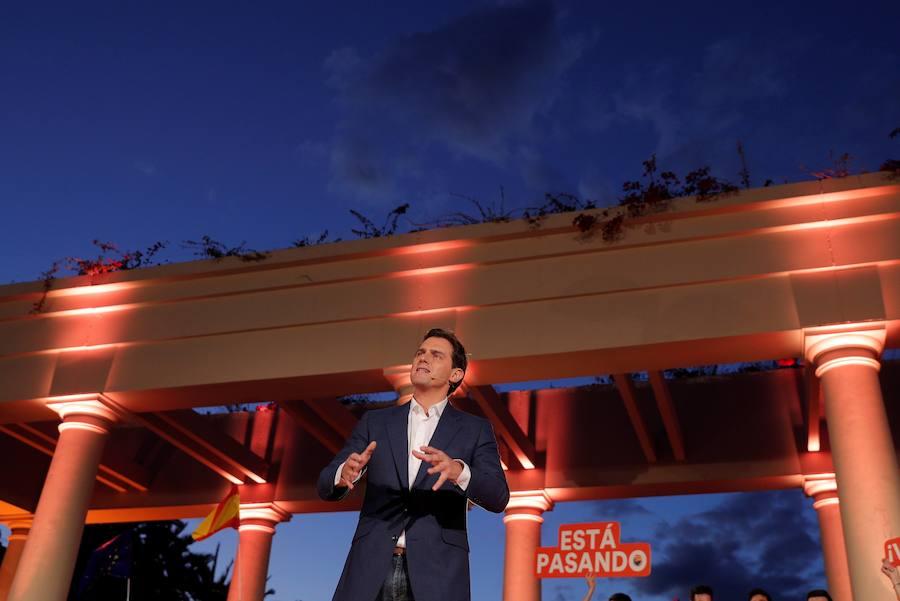Rivera cierra la campaña de Ciudadanos en Valencia