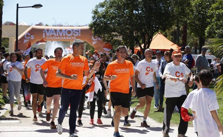 Albert Rivera cierra la campaña electoral 2019 en Valencia junto a Toni Cantó