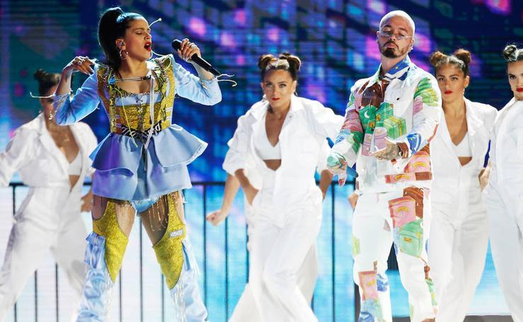 Todos los looks de Rosalía y las estrellas de la música latina en el Billboard Latin 2019