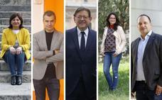 Dónde votan los candidatos a la presidencia de la Generalitat Valenciana