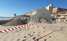 Costas inicia la reparación urgente de un tramo de la Goleta para que esté lista el fin de semana