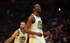 Los Warriors barren a los Clippers gracias a un mágico Durant